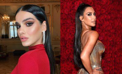 E VESHI EDHE MODELJA SHQIPTARE/ Kim Kardashian padit kompaninë që kopjoi fustanin e saj dhe kërkon… (FOTO)