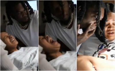 """PAS TRADHËTISË/ Offset publikon videon e """"Card B"""" në momentit e lindjes së vajzës"""