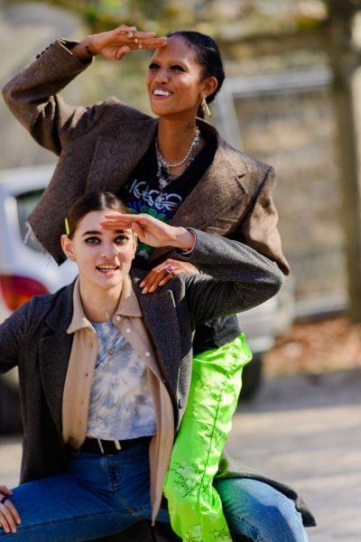 """JAVA E MODËS NË PARIS/ Kush ishin veshjet më të mira """"street style"""" (FOTO)"""
