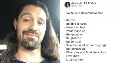 """""""12 RREGULLAT SI TË JESH VAJZË E BUKUR""""/ Postimi seksist që ngjalli reagime në rrjet:"""