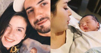"""""""DO I VIJ TURP""""/ Fansat kritikojnë Elitën dhe Gjikon për emrin e bebit (FOTO)"""