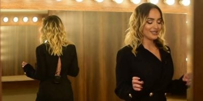 U BEFASUAM/ Këngëtarja e njohur kosovare imiton Xhensilën dhe ne nuk po i dallojmë dot (VIDEO)