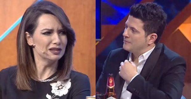 """E QELBE FARE""/ Grida Duma i kthehet Ermal Mamaqit live ne emision (FOTO+VIDEO)"