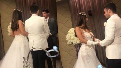 """""""U KËNAQËM SHUMË""""/ Ftoi vetem 8 veta ne dasmë, Valdrin Sahili tregon arsyen (FOTO)"""