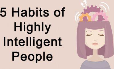 ZBULONI NËSE I PËRKISNI KËTIJ GRUPI/ Pesë zakonet e njerëzve shumë inteligjent
