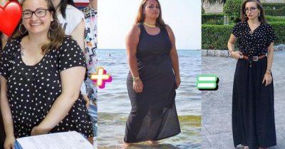 """""""TANI NUK DO TALLEN MË ME MUA""""/ Historia e 23-vjeçares që humbi 47 kg pa shkuar tek asnjë dietolog"""