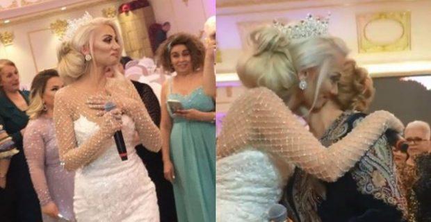 PUBLIKOHET VIDEO/ Momenti prekës kur Gresa Behluli qan në dasëm (VIDEO)