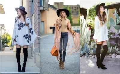 """ARTISTIKE DHE TË PAZAKONTA/ Vajza, këtë pranverë vishni vetëm """"boho style"""" (FOTO)"""