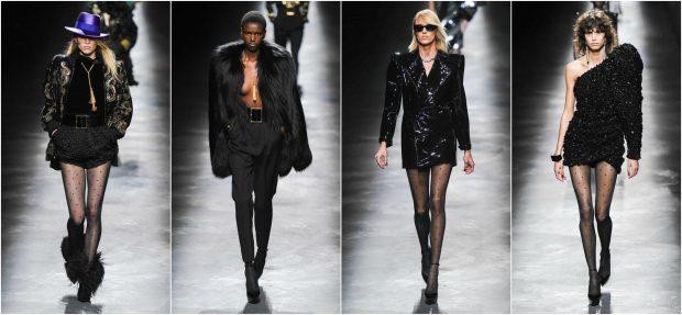 """NEON DHE """"ALL BLACK""""/ Saint Laurent prezanton koleksionin e ri dhe u mahnitëm! (FOTO)"""