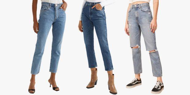 """ME HIJE DHE TË GRISUARA/ Këto 9 modelet  të pranverës """"mom jeans"""" na çmendën (FOTO)"""