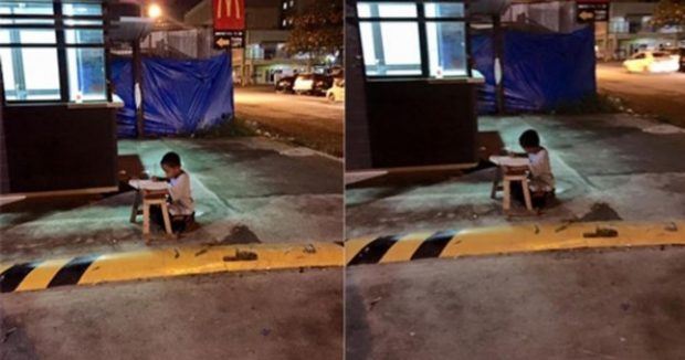 PREKU GJITHË BOTËN/ Fëmija i pastrehë që bënte detyrat nën dritën e një fast-food-i