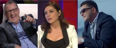E PAPRITUR/ Agron Llakaj dhe Ylli Baka i prishin emisionin Jonida Shehut