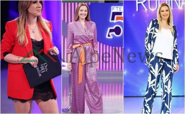 """JAVA E """"PIZHAMEVE""""/ Moderatoret shqiptare bënë """"xing"""" me këto veshje (FOTO)"""