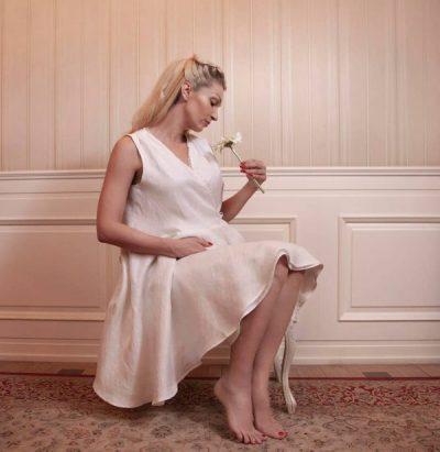 VJEN NË JETË NJË VAJZË/ Modelja shqiptare bëhet nënë për herë të parë