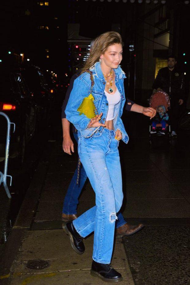 DO T'A ADHURONI/ Trendin e ri të xhinseve, sapo e prezantoi Gigi Hadid në 24-vjetorin e lindjes
