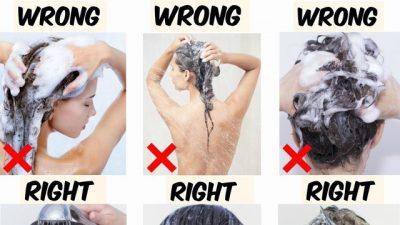 """GABIMET QË BËNI NË DUSH/ Arsyeja kryesore përse flokët tuaj duken """"pa jetë"""""""