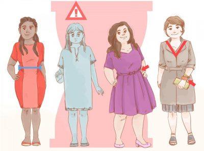 RROBAT E GABUARA JU NXJERRIN DEFEKTET/ Ja çfarë duhet të vishni sipas formës së trupit (FOTO)
