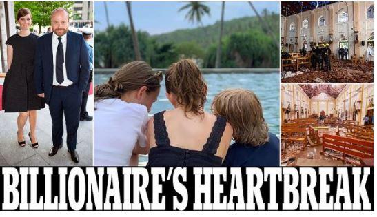 KISHIN SHKUAR PËR…/ Mes 290 të vdekurve në Sri Lanka edhe 3 fëmijët e njeriut më të pasur të Danimarkës