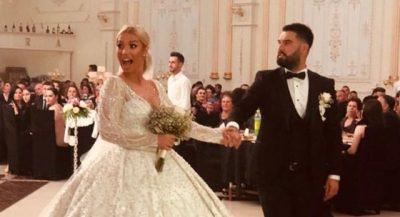 VALLËZIMI I ÇIFTIT/ Dalin pamjet nga dasma madhështore e moderatores shqiptare