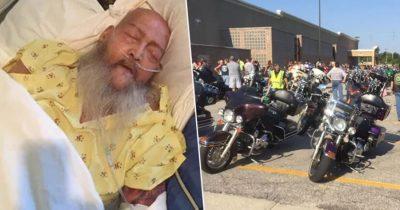 200 MOTOÇIKLISTË I PLOTËSOJNË DËSHIRËN/ I sëmuri me kancer donte të dëgjonte për herë të fundit zhurmën e Harley-t