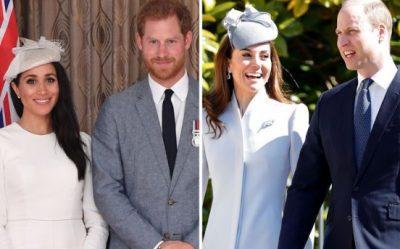 SHUMË PRANË LINDJES/ Kate Middleton dhe Princ William vizitojnë Meghan në shtëpinë në Frogmore