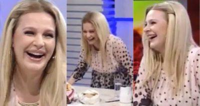 """""""ZONJA TEFTA"""" BËN GAFËN EPIKE/ Rudina nuk mban dot të qeshurën në mes të emisionit (VIDEO)"""