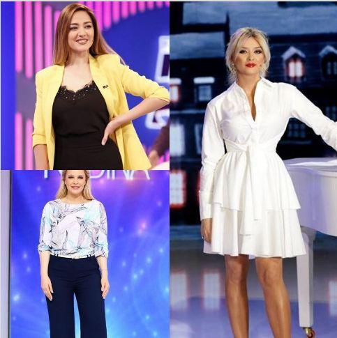 NGJYRA TË LEHTA DERI TEK KONTRASTET/ Si u veshën MODERATORET bukuroshe gjatë kësaj jave (FOTO)