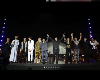 NGA GRIDA DUMA TE MINISTRJA E RE E FINANCAVE/  VIP-at që mblodhi në koncertin e tij Olen Çezari (FOTO)
