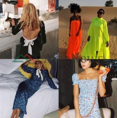 """NGA NGJYRAT NEON TEK ATO TË…/ Këto janë modelet TRENDI të fustaneve që kanë """"pushtuar"""" Instagramin (FOTO)"""