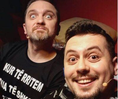 """""""JU BËFSHIM NËNAT""""/ Si s'na dhatë pikë në Eurovision? Aktorit të humorit nuk i ka dalë akoma inati me Italinë"""