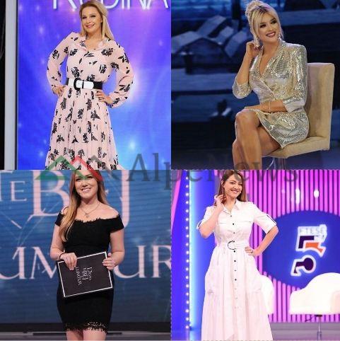 NGA FUSTANËT FLORALË TEK…/ SI u veshën MODERATORET bukuroshe gjatë javës, ja trendet që sollën (FOTO)