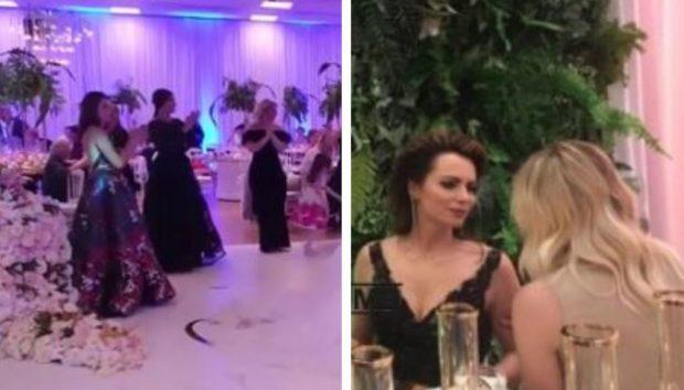 """""""ME FUSTAN TË ZI DHE PLOT ELEGANCË""""/ Grida Duma """"e djeg"""" në dasmën e motrës, pamje nga ahegu me 200 të ftuar (FOTO)"""