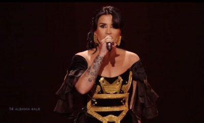 """NJË MBRETËRESHË E VËRTETË ILIRE/ Detajet që bënë diferencën në 'look-un' e Jonida Maliqit në """"Eurovision"""""""