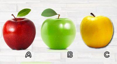 DO TË NDËRTONI NJË KARRIERË TË SHKËLQYER NË TË RADHMEN? Zgjidh një mollë dhe zbulo çfarë ndodh me ty