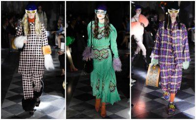 """KA NJË MESAZH TË FUQISHËM/ """"Gucci-i """" prezantoi koleksionin e ri në një sallë të errët (FOTO)"""