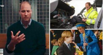 """""""ISHTE NJË DHIMBJE SI ASGJË TJETËR NË JETË""""/ Princi William tregon si e përjetoi ndarjen nga jeta të nënës së tij (VIDEO)"""
