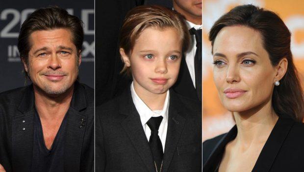 BRAD PITT NUK SHKON/ Festa e frikshme e Angelina Jolie për ditëlindjen e vajzës