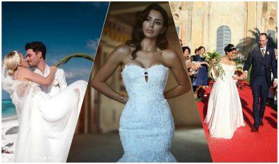 LARG MEDIAVE DHE FANSAVE/ Vip-at që u martuan në fshehtësi: Nga Suada Sherifi tek Miriami e Albani (FOTO)