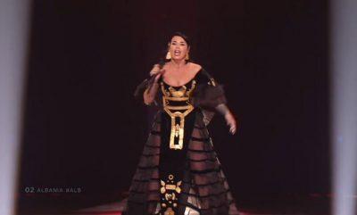 "FINALE/ Ja si u vlerësua Jonida Maliqi pas interpretimit në ""Eurovision"""