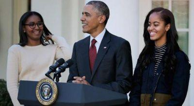 NJË YLL/  Vajza e Barack Obamës merr gjithë vëmendjen në mbrëmjen e maturës