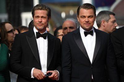 NJË SUKSES/ Leo DiCaprio dhe Brad Pitt u bënë bashkë dhe çmendën publikun e Kanës