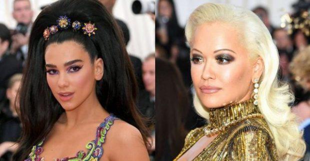 """LANË NAM/ Dua dhe Rita i bënë të papriturën njëra-tjetrës në """"Met Gala"""" (FOTO)"""