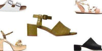 MANIA KIM KARDASHIAN/ Këto sandale të viteve 90 janë trendi më i madh i momentit (FOTO)