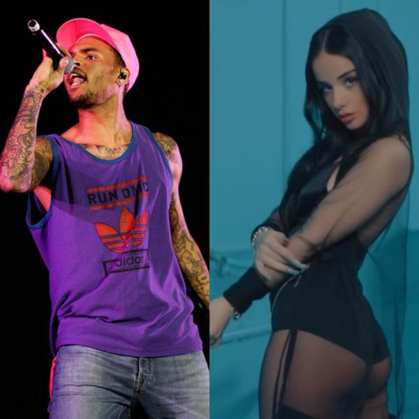 """PAS ARBENITËS/ Chris Brown ndjek një tjetër artiste shqiptare në """"Instagram"""""""