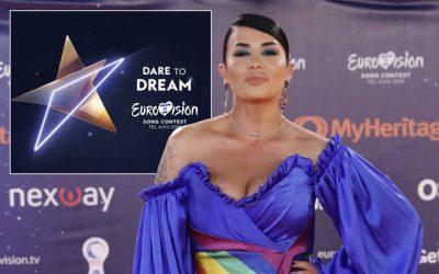 MË E VOTUARA/ Jonida Maliqi bëhet gati për natën finale të Eurovisionit (FOTO)