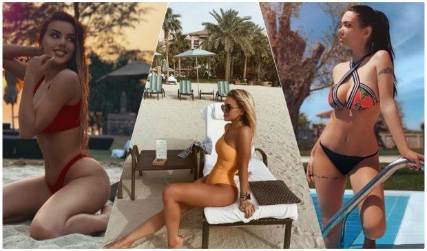 """VAJZA DUHET TË KENI GUXIMIN/ Vip-et zgjodhën këto bikini """"MUST"""" dhe na befasuan me format super seksi"""