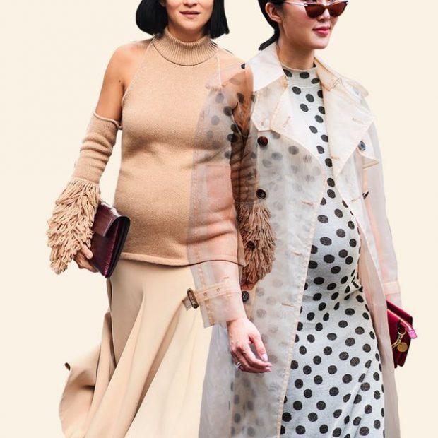"""SHTATZËNË STIL/ Ja veshjet që do t'ju tregojnë """"stylish"""" gjatë pritjes së ëmbël"""
