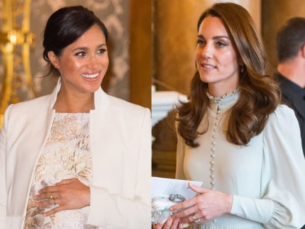 INSTIKTI MËMËSOR/ Gjuha e trupit të Meghan Markle dhe Kate Middleton zbulon të njëjtën gjë