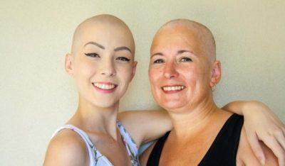"""""""SËMUNDJA NUK NA MPOSHT DOT""""/ Historia frymëzuese mamasë dhe vajzës me kancer gjiri"""