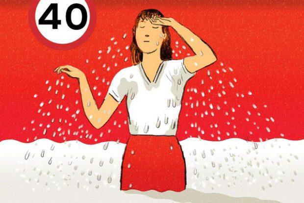 RREZIK PËR SHËNDETIN/ 3 gjërat që çdo grua mbi 40 vjeç duhet të dijë rreth djersitjes së tepërt